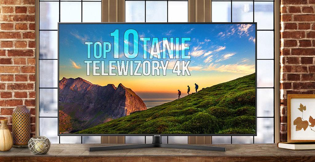 TOP10 tanie telewizory 4k