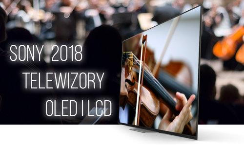 Telewizory Sony 2018
