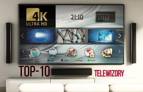 top-10 telewizory 2018