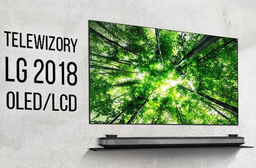 telewizory lg 2018