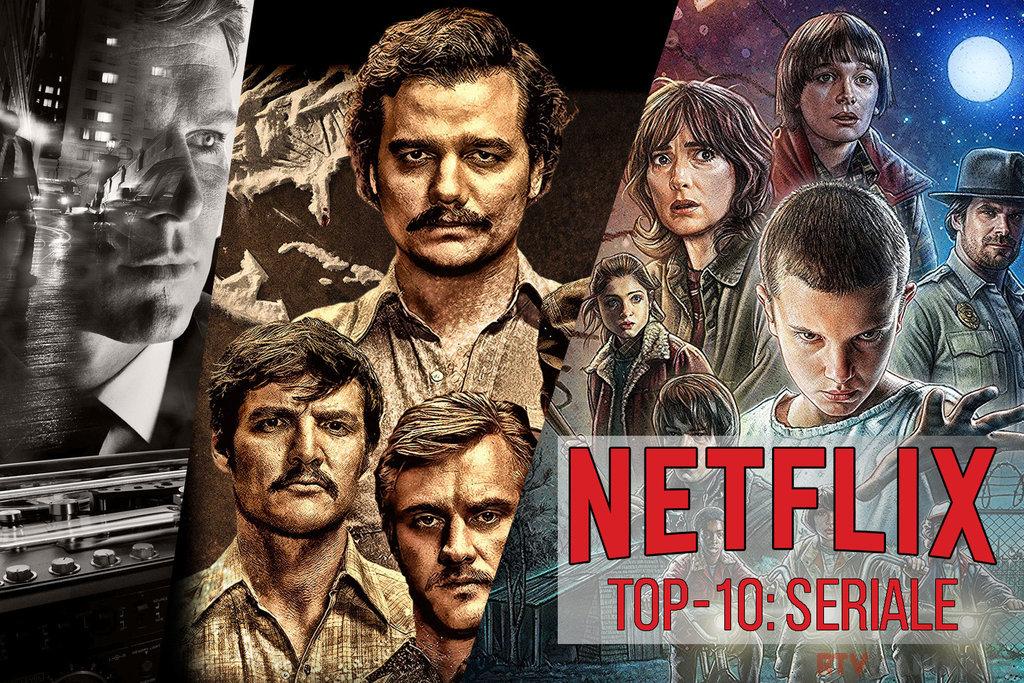 TOP10 seriale netflix