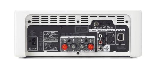 Denon CEOL N10: tył urządzenia / fot. mat. promocyjne Denon