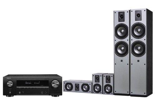 DENON AVR-X1500H + Wilson Viper Czarny / fot. Media Markt