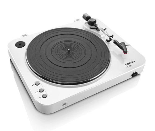 Lenco L-85: tani gramofon z przedwzmacniacze, regulacją obrotów i USB / fot. Lenco