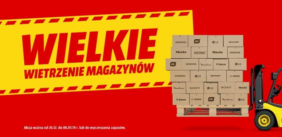 Media Markt wietrzenie magazynów 2018 / fot. Media Markt