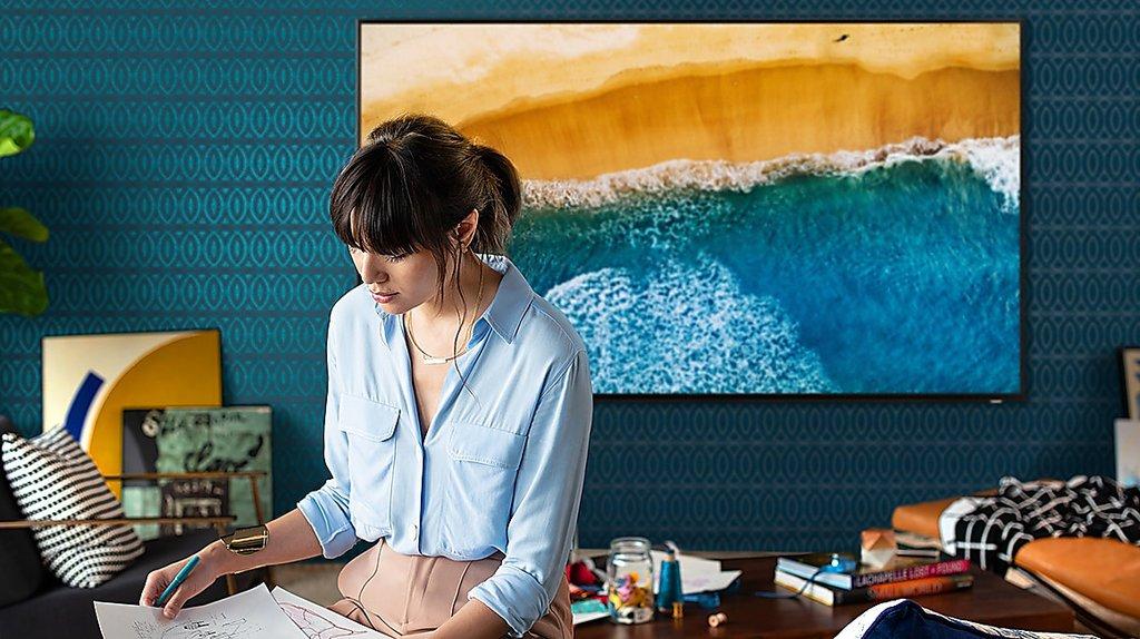"85"" QLED 8K Q900R: nie tylko TV / fot. Samsung"