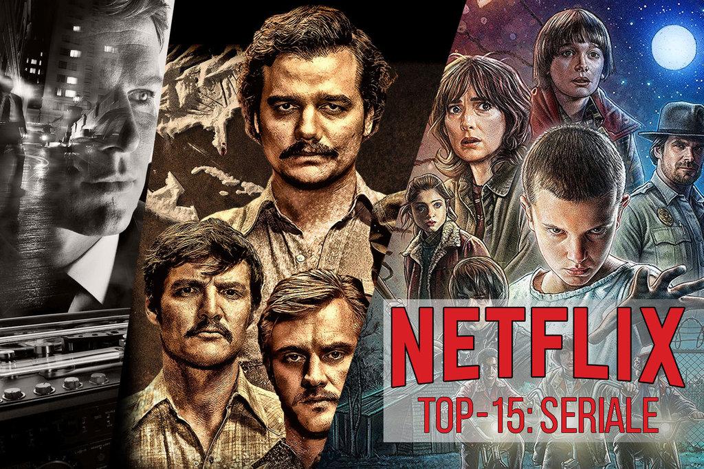 TOP15 seriale netflix