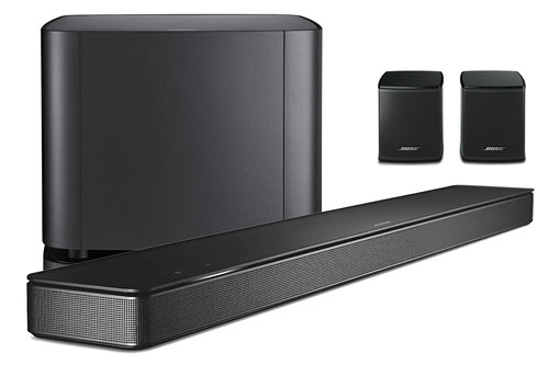 Bose 500: soundbar z głośniczkami surround oraz subem / fot. Bose