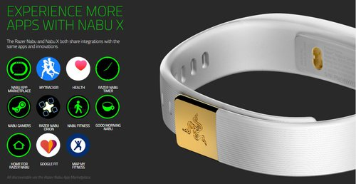 Razer Nabu X Smartband / fot. Razer