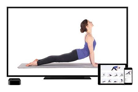 fot. fitnesowe aplikacje Apple TV / mat. partnera