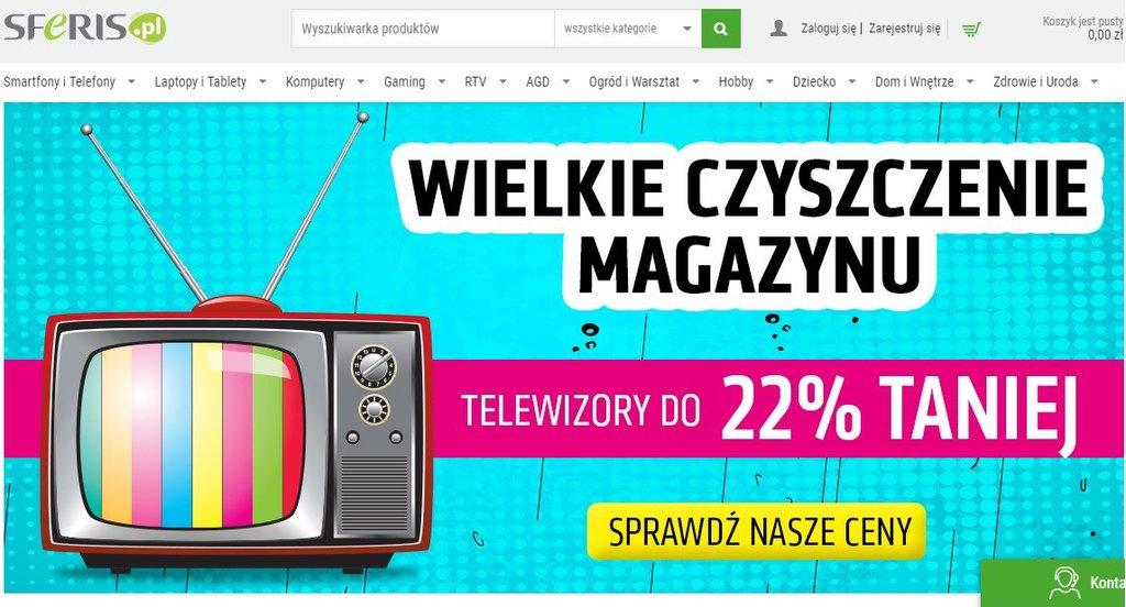 Sferis: wielkie czyszczenie TV / fot. Sferis