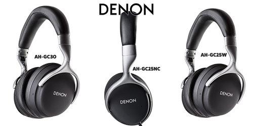 Denon seria GC wszystkie modele / fot. Denon