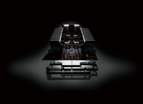 Yamaha A-S301 inside / fot. Yamaha
