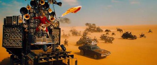 Kadr z filmu Mad Max: Fury Road/ fot. Warner Bros. Pictures