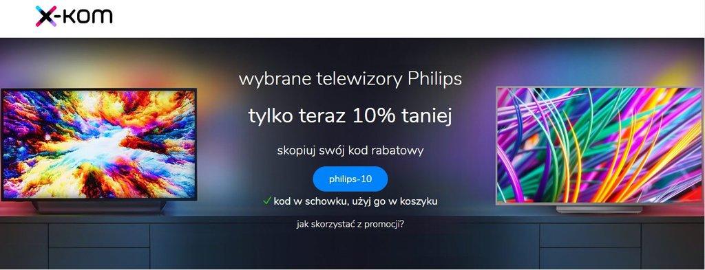 X-kom - wybrane telewizory Philips 10% taniej / fot. X-kom