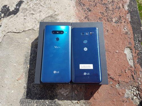 LG V30 vs LG V40: rozmiar