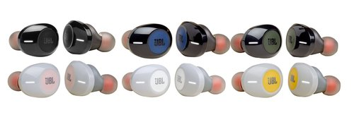 JBL Tune 120 TWS: dostępne wersje kolorystyczne / fot. JBL