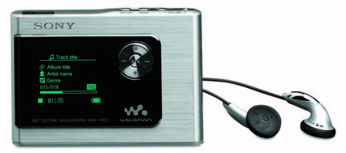 Walkman NW-HD1 / fot. Sony