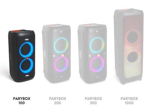 JBL Partybox 100: zestawienie serii / fot. JBL