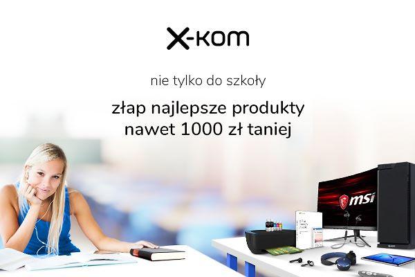 x-kom - promocja Nie tylko do szkoły / fot. x-kom
