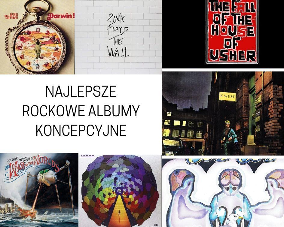 Najlepsze rockowe albumy koncepcyjne - TOP 15