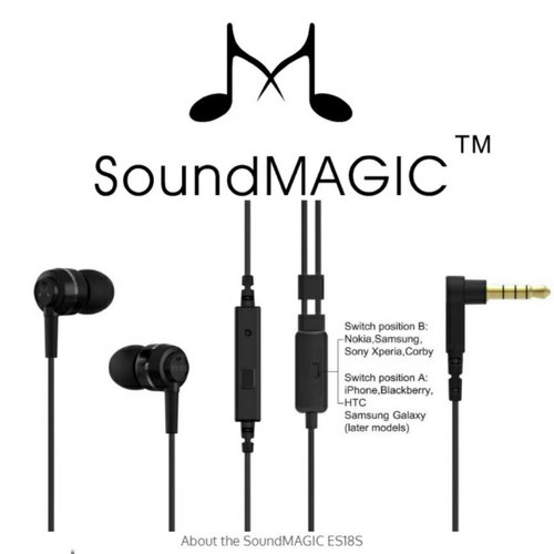 SoundMagic ES18S / fot. SoundMagic
