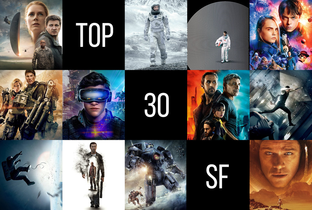 TOP30 filmy SF (2019)