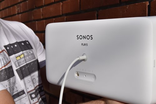 Sonos Play:5 tył / fot. techManiaK