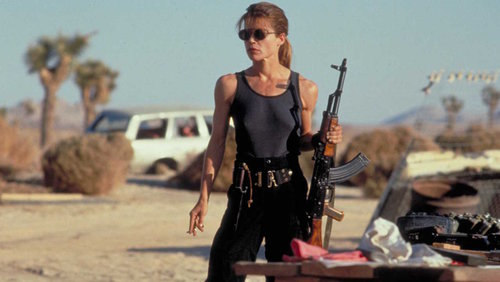 Terminator 2 Judgment Day Sarah Connor