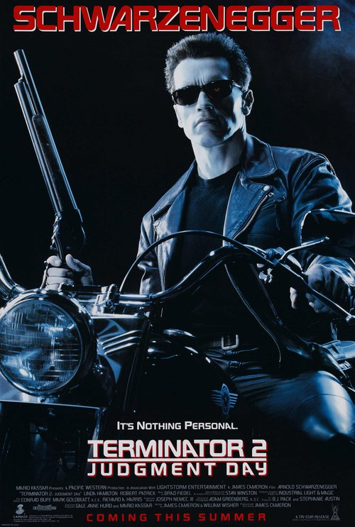 Terminator 2 Judgment Day: poster
