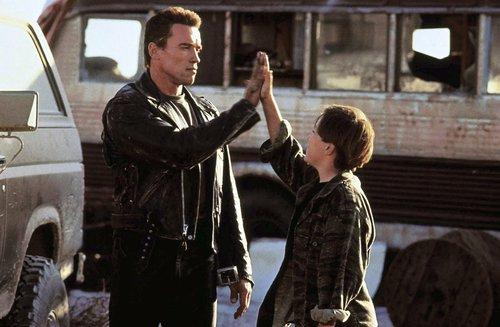 Terminator 2: T-800 i John