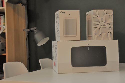 Zestaw Sonos przed rozpakowaniem / fot. techManiaK