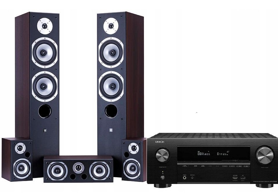 AVR-X2500H + Wilson Movix / fot. Denon Store