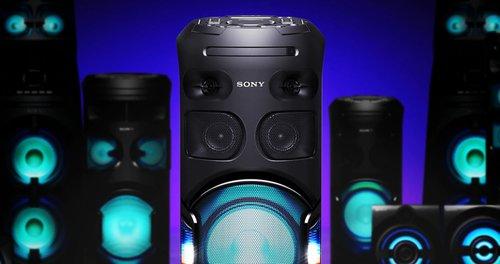 Zestaw audio V42D. // Źródło: Sony;