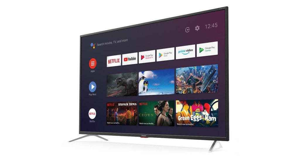 65 calowy smart tv Sharp Aquos //Fot. materiały prasowe