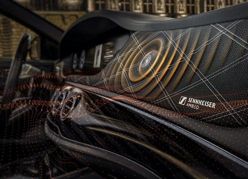 Bezgłośnikowy system car audio od Sennhaisera i Continental / fot. Sennheiser/Conti