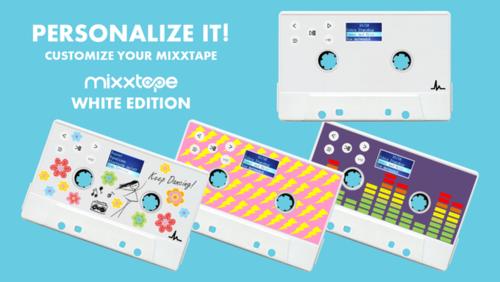 Mixxtape z możliwością personalizacji / fot. Mixxtape