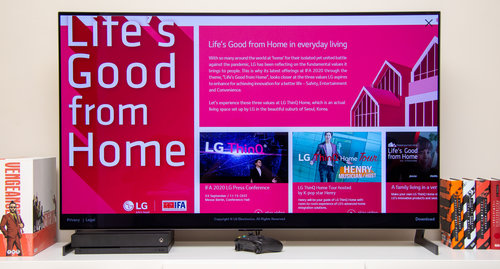 LG OLED55GX3LA / fot. techManiaK.pl