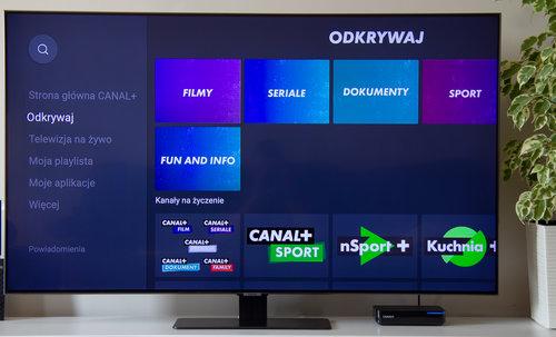 CANAL+ BOX 4K / fot. techManiaK.pl