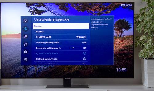 Samsung QE55Q80TA / fot. techManiaK.pl