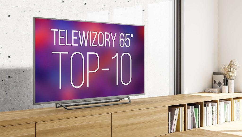 TOP-10 telewizory 65