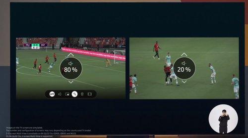 Wypróbuj Samsung QN91A TV Mini LED 2021 do sportu i gier