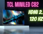 TCL C82 to telewizor miniLED z HDMi 2.1!