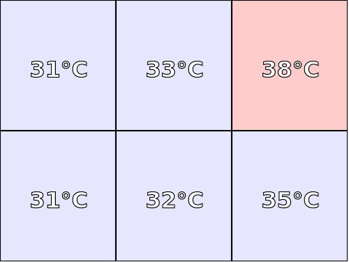 Temperatura obudowy: spód CHUWI Hi10 pro