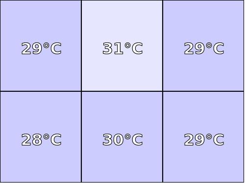 Temperatura obudowy: spód GOCLEVER INSIGNIA 800M
