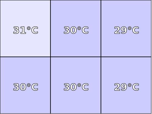 Temperatura obudowy: spód GOCLEVER INSIGNIA 1010M