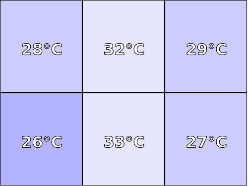 Temperatura obudowy: spód Lenovo Yoga Tab 3 8