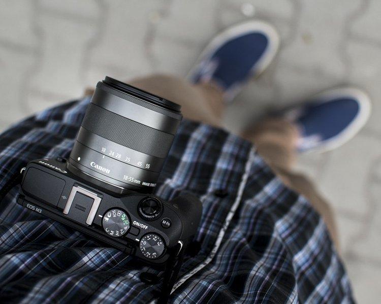 Testujemy Canona EOS M3. Co chcecie wiedzieć? - bezlusterkowiec Canona prosty bezlusterkowiec zaczynamy testy