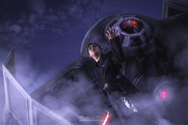 Wyjątkowa sesja ślubna pod znakiem Gwiezdnych Wojen - Gwiezdne Wojny sesja ślubna Star Wars