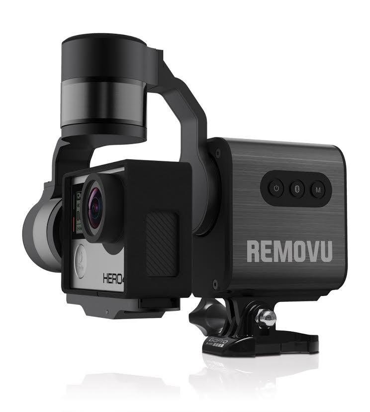 Removu S1 – wodoodporny stabilizator do GoPro - gimbal stabilizator do GoPro